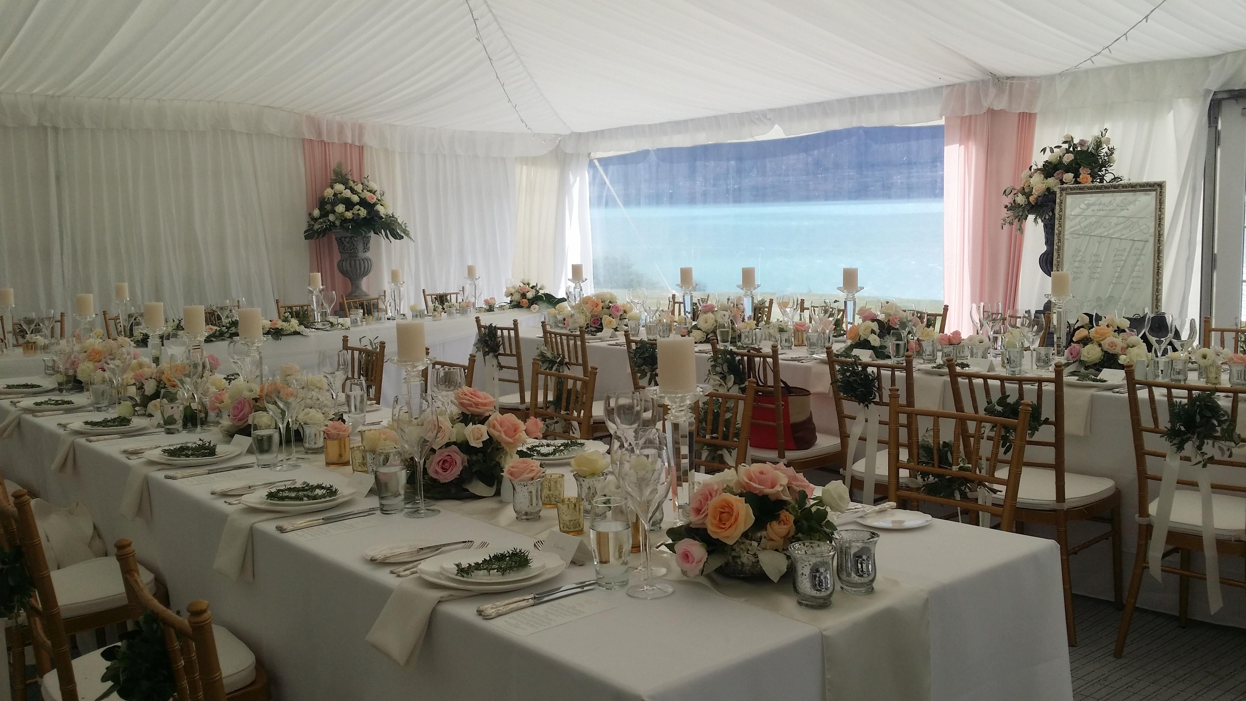 Wedding Professionals | Slider White Marquee Creative Design and Decor